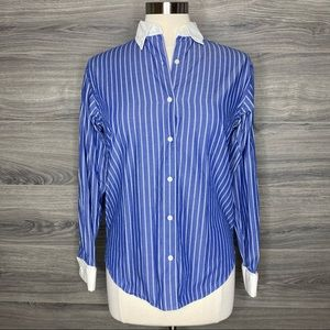 Brooks Brothers Striped Button Down Shirt size S